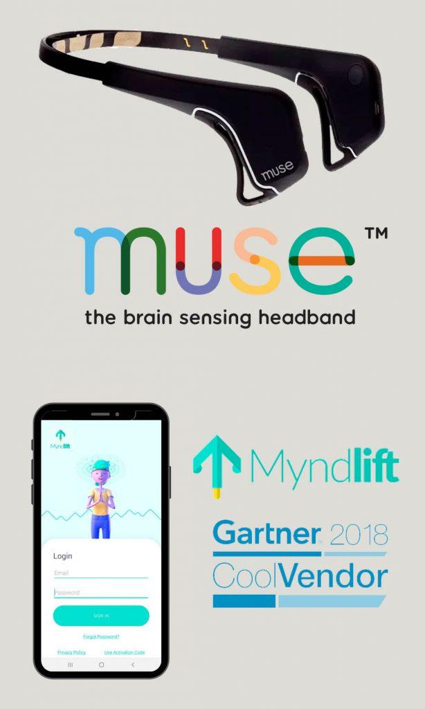 Muse headband, Myndlift